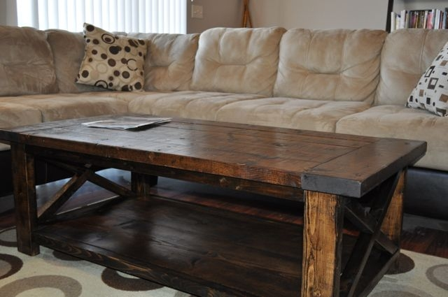 Remarkable Latest Elegant Rustic Coffee Tables Within Living Room The Elegant Rustic Furniture Coffee Table Throughout (View 4 of 40)