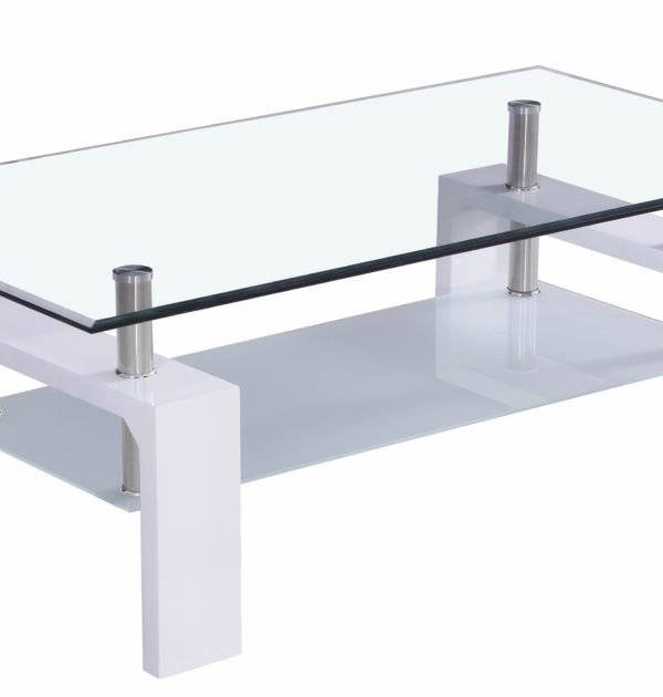 Remarkable Latest Elise Coffee Tables In Elise Coffee Table White Pennywise (View 36 of 40)