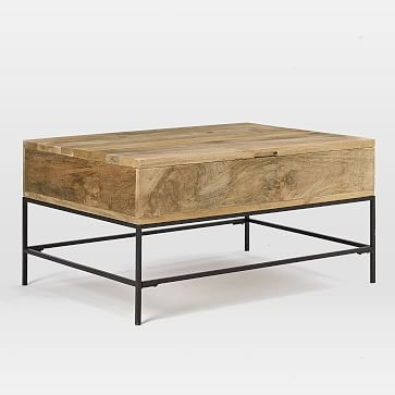 Remarkable Latest Mango Wood Coffee Tables Regarding Wood Coffee Table West Elm (Image 37 of 50)