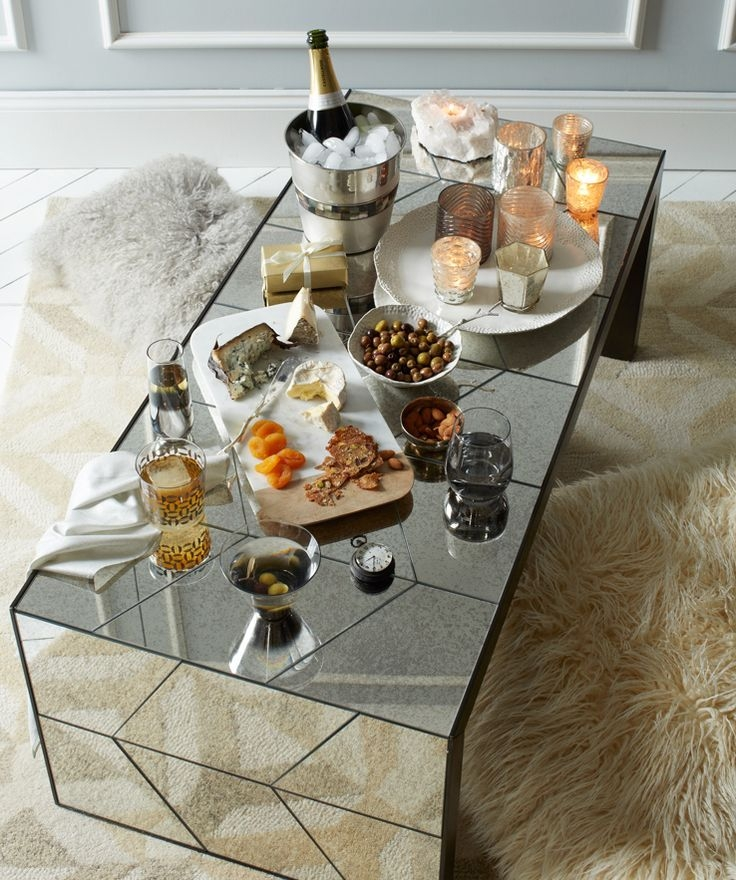 Remarkable Latest Mirrored Coffee Tables In Best 20 Mirrored Coffee Tables Ideas On Pinterest Home Living (Photo 5 of 50)
