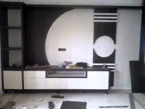 Remarkable Latest Modular TV Cabinets Throughout Hall T V Unit Design 8 Streaks Interiors Youtube (Image 37 of 50)