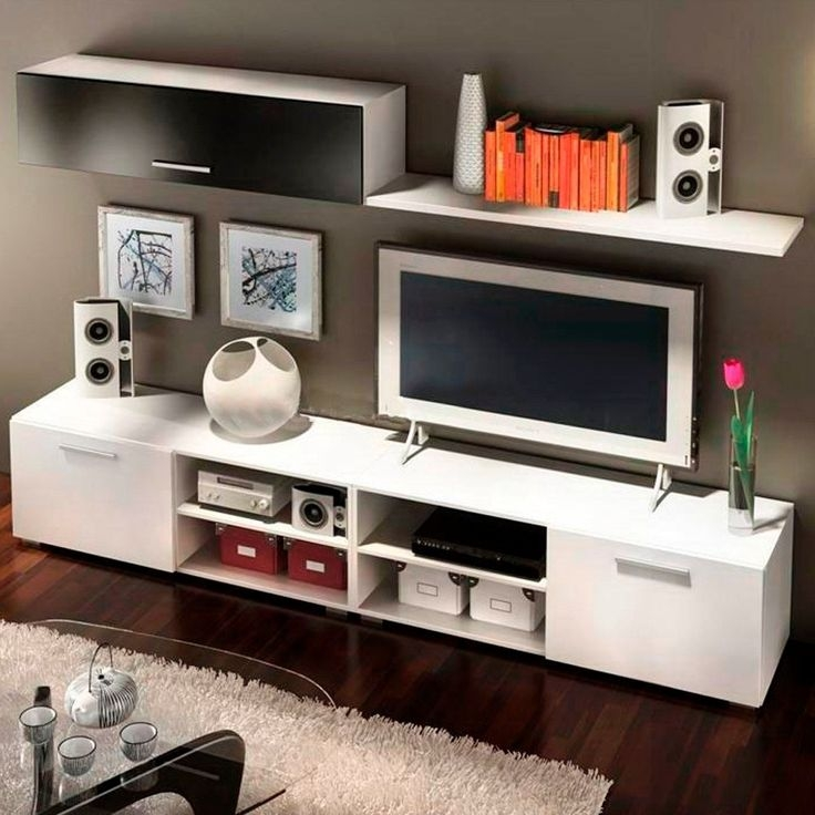 Remarkable Latest Modular TV Stands Furniture Regarding 223 Best Tv Entretenimiento Images On Pinterest Tv Units Tv (Image 42 of 50)