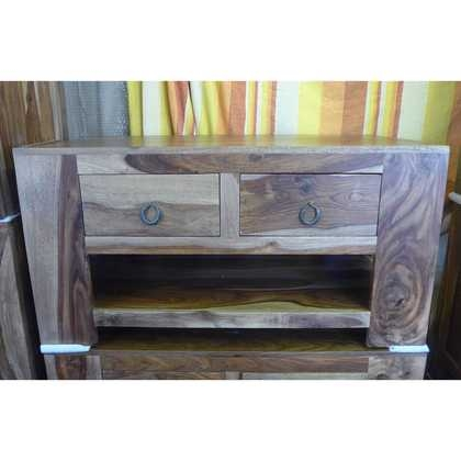 Remarkable Latest Sheesham TV Stands Regarding Two Drawer Sheesham Tv Stand Jugs Indian Furniture Gifts (Image 42 of 50)