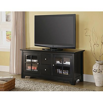 Remarkable Latest Solid Wood Black TV Stands For 290 Best Tv Stands Images On Pinterest Tv Stands Entertainment (Image 44 of 50)