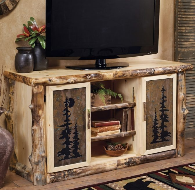 Remarkable New Cheap Rustic TV Stands For Industrial Pipe And Wood Tv Stand Media Console Rustic Furniture (View 37 of 50)