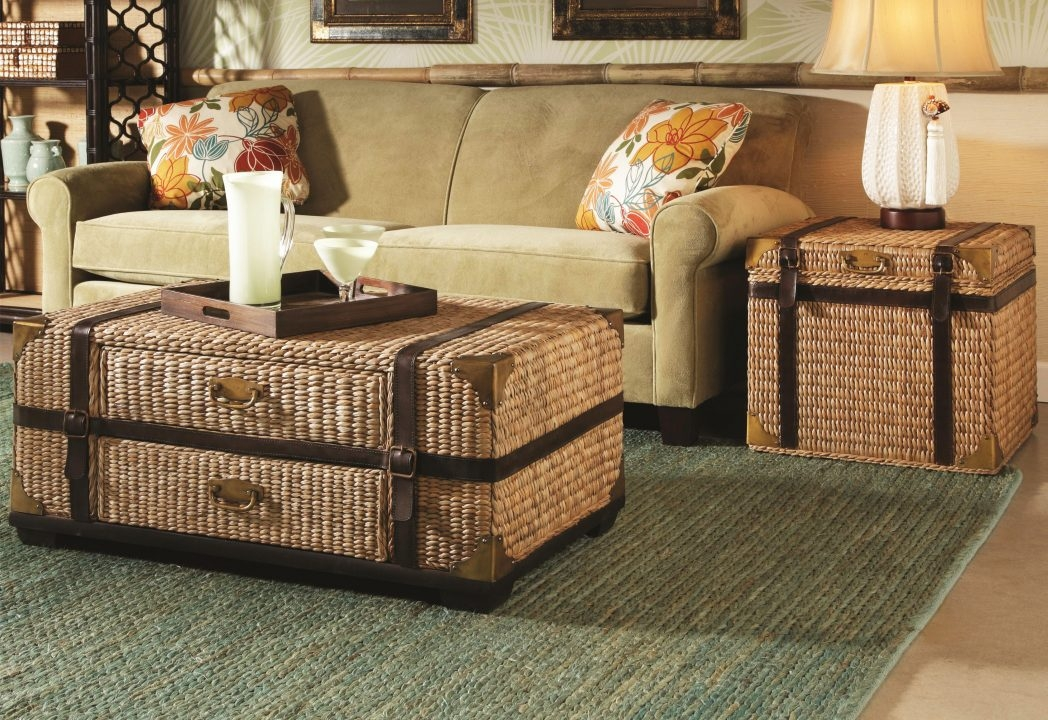 Remarkable New Coffee Tables With Baskets Underneath For Side End Coffee Table Stand Wooden Storage 3 Baskets Furniture (Image 30 of 40)