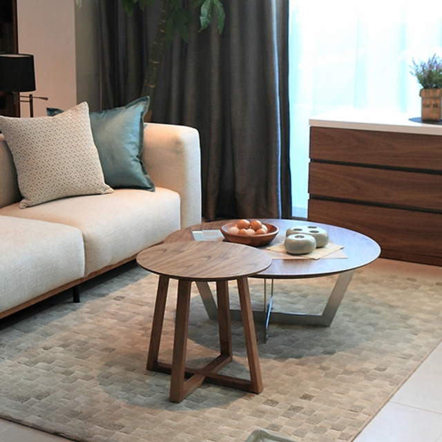 Remarkable New Coffee Tables With Rounded Corners With Sofa Side A Few Corner Small Japanese Style Living Room Coffee (View 19 of 50)
