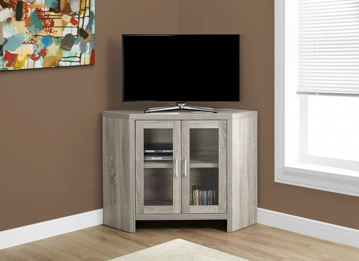 Remarkable New Glass Corner TV Stands For Flat Screen TVs Within Tv Stands Modern Glass Corner Tv Stands For Flat Screen Tvs Ideas (Image 38 of 50)