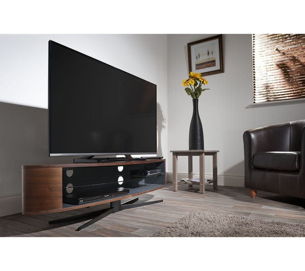 Remarkable New Techlink Air TV Stands Intended For Buy Techlink Ellipse El140wsg Tv Stand Free Delivery Currys (Image 42 of 50)