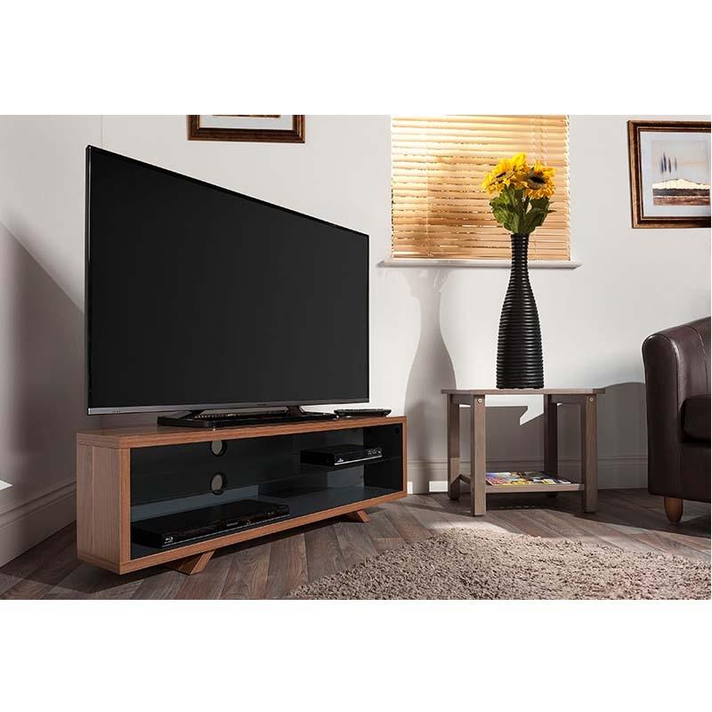 Remarkable New Techlink Corner TV Stands Intended For Techlink Dual Corner Series 55 In Tv Stand Dark Oak And Satin (Image 40 of 50)