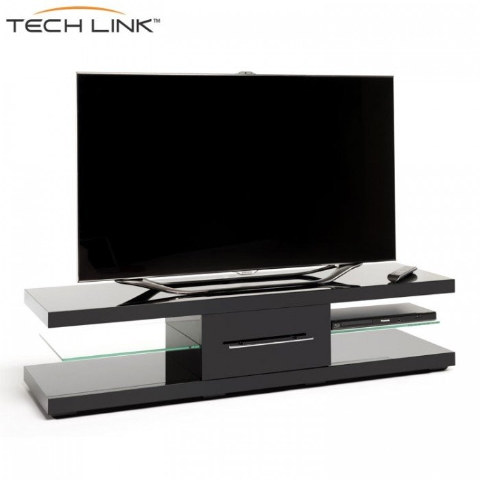 Remarkable New Techlink Echo Ec130tvb TV Stands Intended For Techlink Ec150b Echo Xl Piano Gloss Black Tv Stand  (Image 40 of 50)