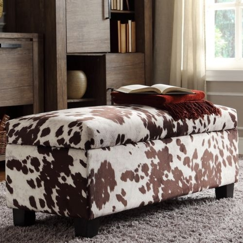 Remarkable Popular Animal Print Ottoman Coffee Tables Pertaining To Animal Print Storage Ottoman (Image 41 of 50)