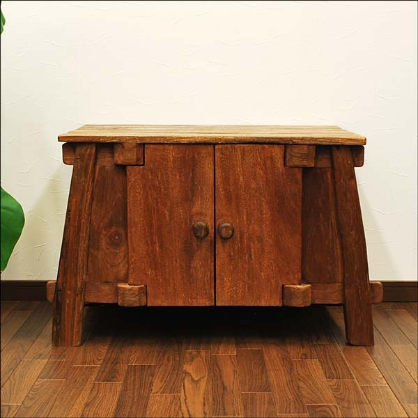 Remarkable Popular Asian TV Cabinets With Regard To Auc Mamoqq Rakuten Global Market Furniture Of The Old Teak (View 40 of 50)