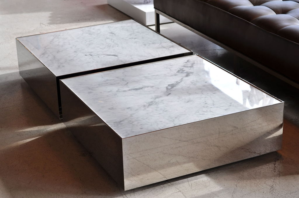 Remarkable Popular Large Low White Coffee Tables Pertaining To Charming Low Coffee Table Modern (View 22 of 50)