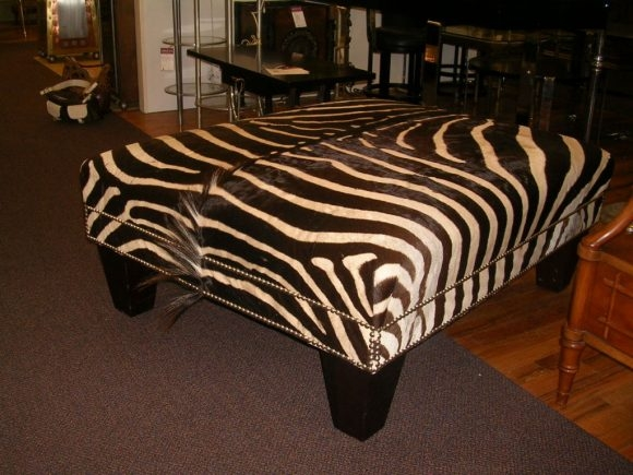 Remarkable Popular Leopard Ottoman Coffee Tables Regarding Living Room Leopard Print Storage Ottoman With Leopard Print (Image 32 of 40)