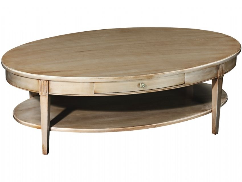 Remarkable Popular Oblong Coffee Tables Pertaining To Oval Coffee Tables Universodasreceitas (Image 35 of 40)