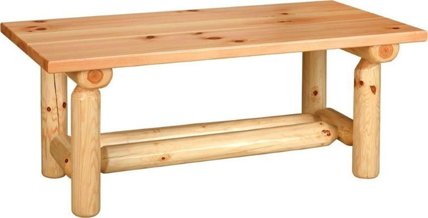 Remarkable Popular Pine Coffee Tables Inside Rustic Pine Coffee Table From Dutchcrafters Amish Furniture (View 41 of 50)