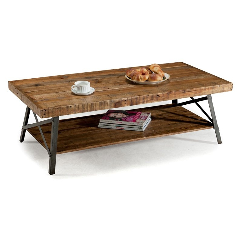 Remarkable Popular Reclaimed Wood Coffee Tables With Regard To Belham Living Edison Reclaimed Wood Coffee Table Coffee Tables (View 11 of 50)
