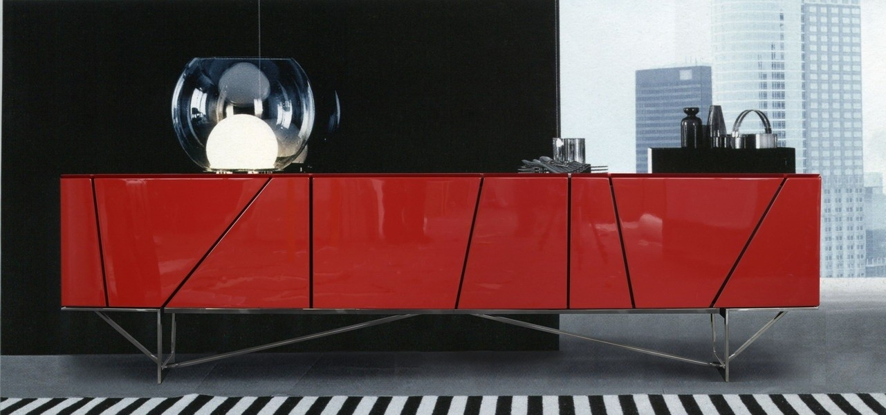 Featured Image of Red Modern TV Stands