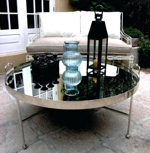 Remarkable Popular Round Tray Coffee Tables Within Coffee Table Mid Century Moroccan Folding Brass Tray Tablewhite (Image 41 of 50)