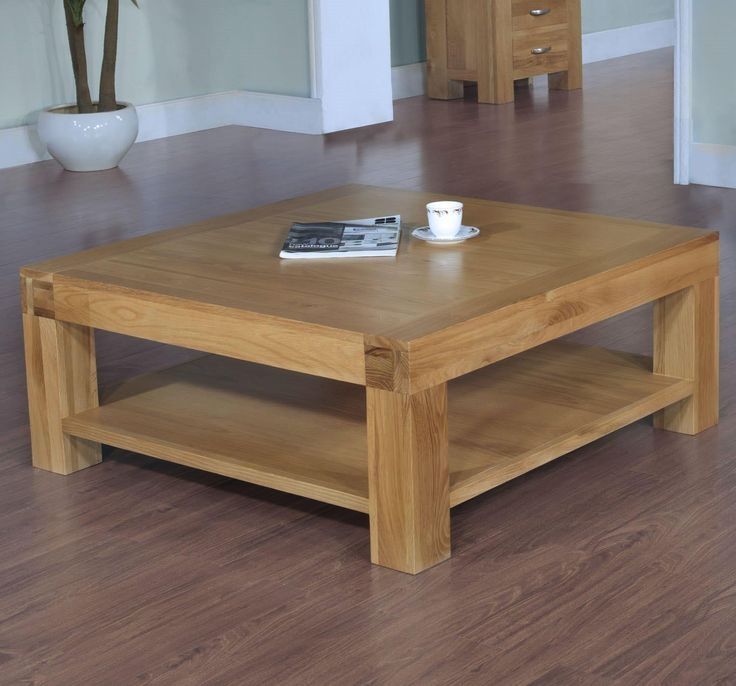 Top 50 Square Pine Coffee Tables
