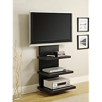 Remarkable Popular Swivel TV Stands With Mount Throughout Amazon Fitueyes Floor Tv Stand With Mount Swivel For 32  (Image 38 of 50)
