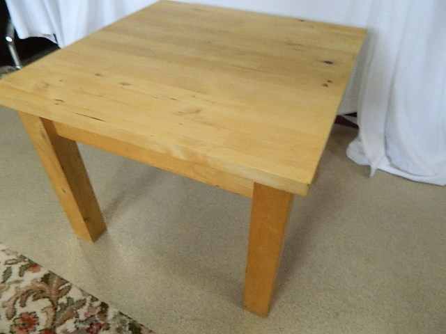 Remarkable Preferred Birch Coffee Tables Regarding Ikea Frojsta Solid Birch Coffee Table (View 27 of 50)