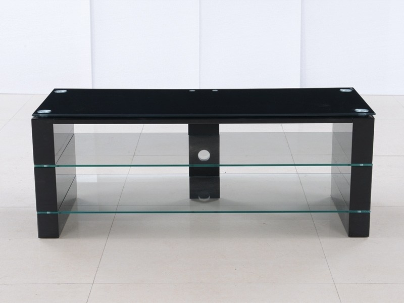 Remarkable Preferred Black TV Stands Throughout Black High Gloss Tv Stand Home Design Ideas (Image 33 of 50)