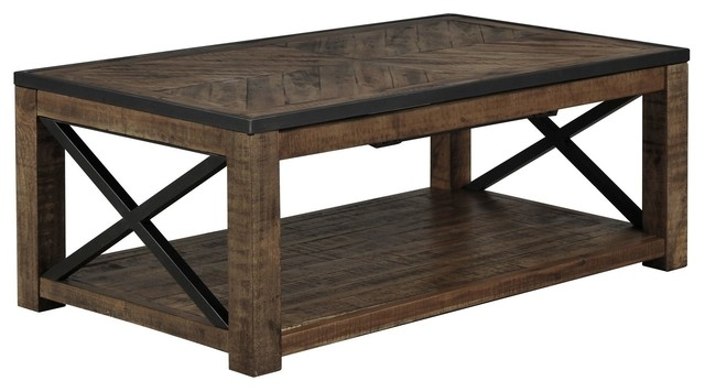 Remarkable Preferred Lift Top Coffee Tables Regarding Table Rustic Lift Top Coffee Table Home Interior Design (Image 39 of 50)