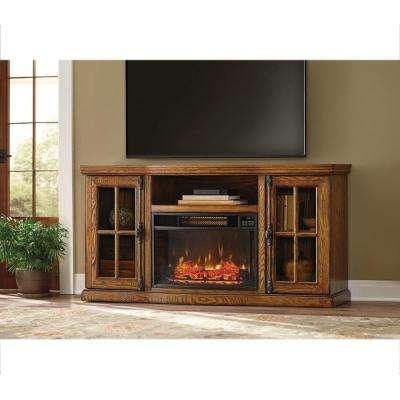 Remarkable Preferred Maple Wood TV Stands Within Fireplace Tv Stands Electric Fireplaces The Home Depot (View 15 of 50)
