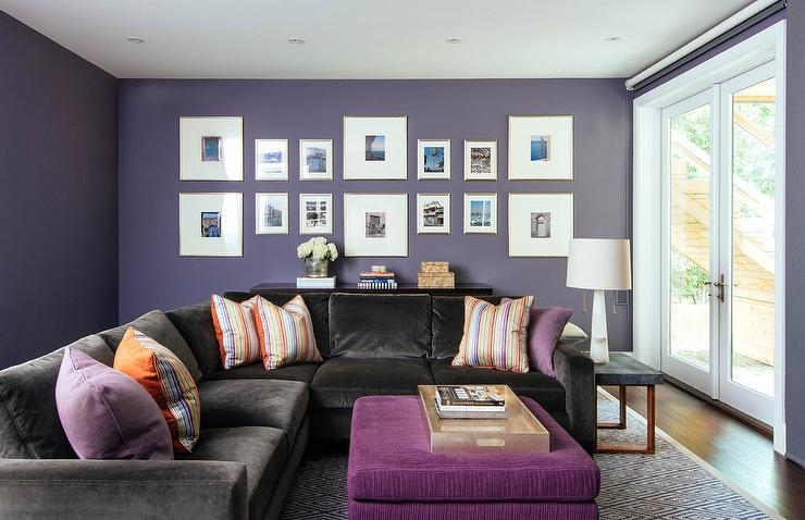 Remarkable Preferred Purple Ottoman Coffee Tables Inside Purple Ottoman As Coffee Table Design Ideas (Image 31 of 40)