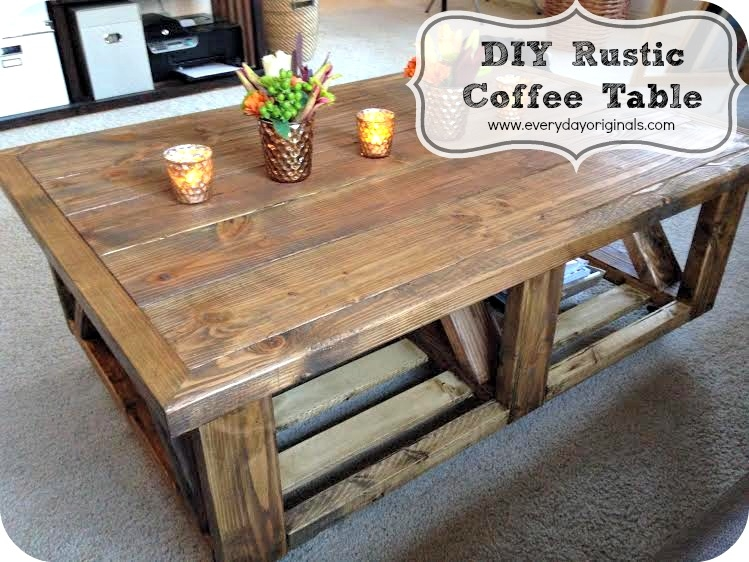 Remarkable Preferred Rustic Storage DIY Coffee Tables With Regard To Rustic Storage Coffee Table With Plans Worldtipitaka (Image 38 of 50)