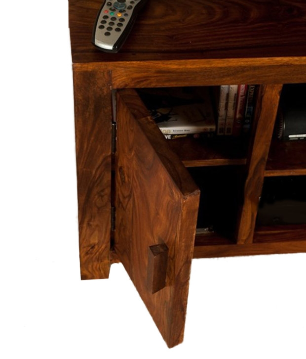 Remarkable Preferred Sheesham TV Stands In Lifeestyle Handcrafted Sheesham Wood Tv Stand Buy Lifeestyle (Image 45 of 50)
