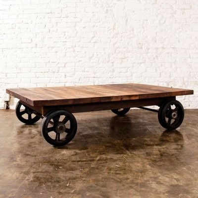 Remarkable Preferred Wheels Coffee Tables Throughout Coffee Tables With Wheels (View 25 of 50)