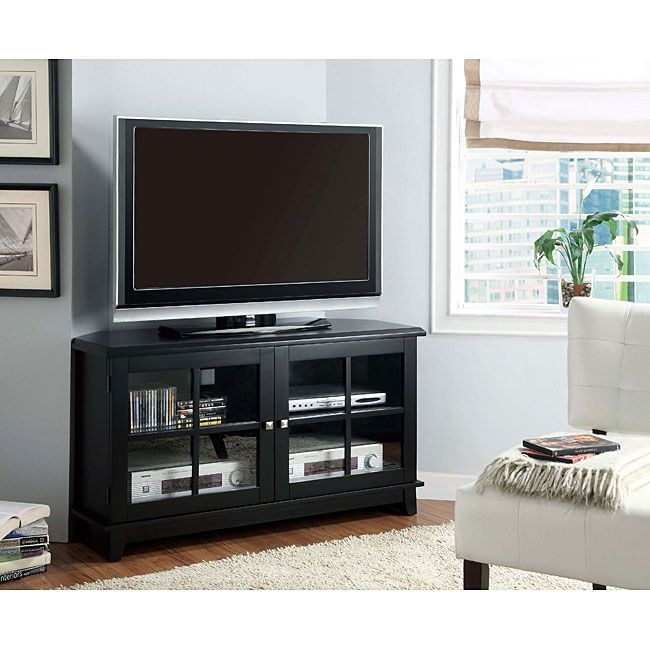 Remarkable Premium 50 Inch Corner TV Cabinets For Tv Stands Awesome Black Corner Tv Stands For 50 Inch Tv Ideas (View 48 of 50)