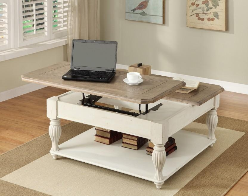 Remarkable Premium Cheap Lift Top Coffee Tables Throughout Coffee Table Astonishing White Coffee Table Set White Top Coffee (Image 38 of 50)