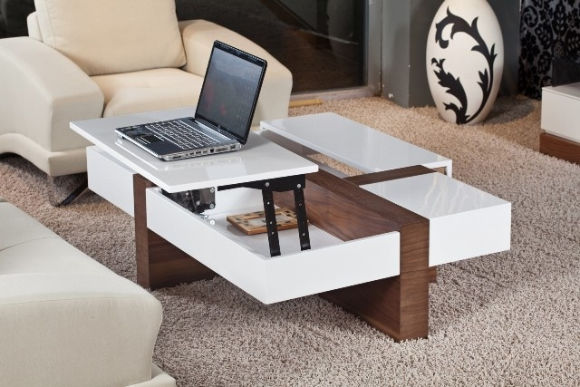 Remarkable Premium Coffee Tables With Lift Up Top With Regard To Top Modern Lift Top Coffee Table Quality Coffee Table That Lifts (Image 31 of 40)