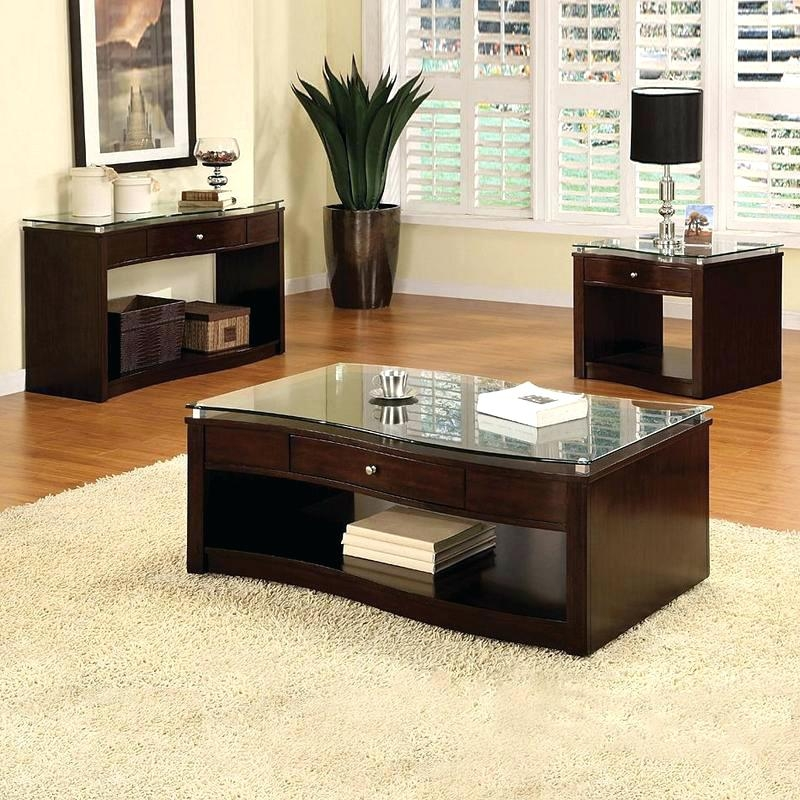 Remarkable Premium Espresso Coffee Tables For Espresso Coffee Table And End Tables Dealhackrco (View 19 of 50)