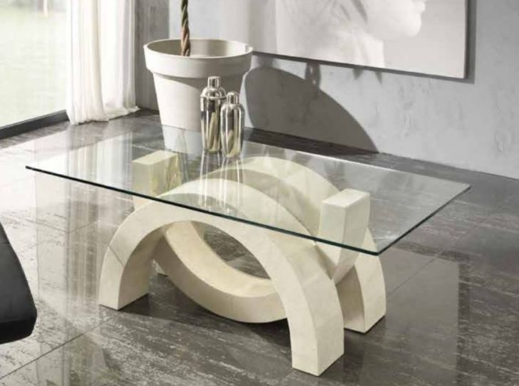 Remarkable Premium Glass And Stone Coffee Table For Marble And Glass Coffee Table Biantable (Image 36 of 50)