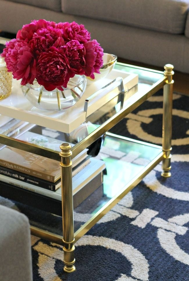 Remarkable Premium Glass Gold Coffee Tables In Best 20 Gold Coffee Tables Ideas On Pinterest Gold Table (View 2 of 50)