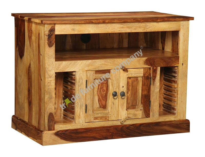 Remarkable Premium Jali TV Cabinets Regarding Jali Wood Tv Cabinets Jali Furniture (View 6 of 50)