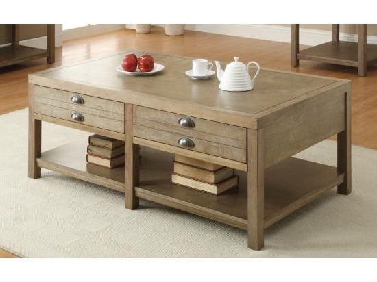 Remarkable Premium Light Oak Coffee Tables With Drawers Intended For Light Oak Coffee Table With Two Drawers (View 15 of 40)