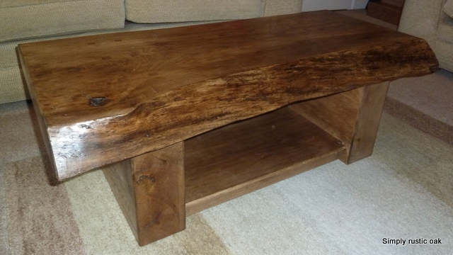Remarkable Premium Rustic Coffee Tables And Tv Stands For All Products Simply Rustic Oak Furniture Handmade Bespoke (View 30 of 50)