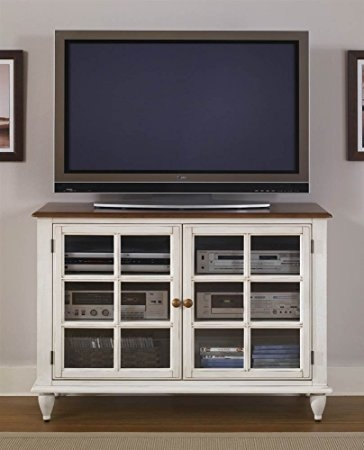 Remarkable Series Of Country TV Stands Pertaining To Amazon Liberty Furniture Low Country Tv Stand Kitchen Dining (Image 38 of 50)