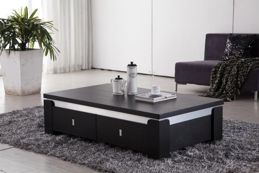 Remarkable Series Of Dark Wood Coffee Table Storages Pertaining To Cool Dark Wood Coffee Table Design (Image 43 of 50)