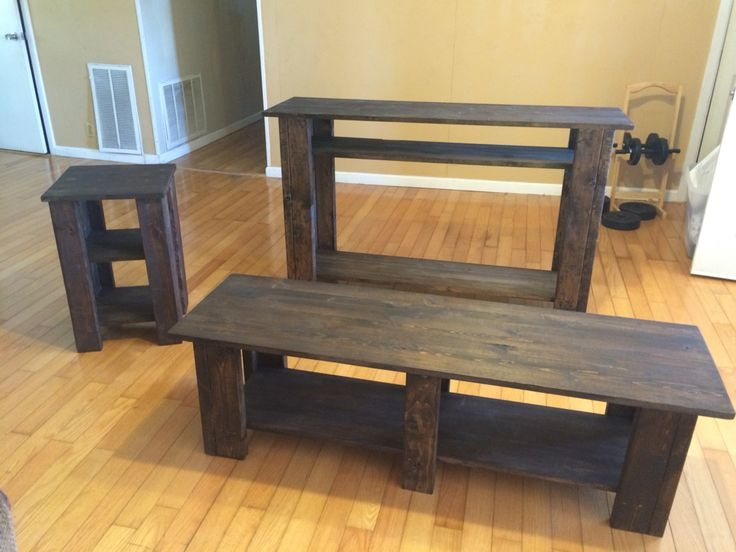 Remarkable Series Of Rustic Coffee Table And TV Stands Inside Matching Coffee Table And Tv Stand Rustic Coffee Table On Crate (Image 40 of 50)