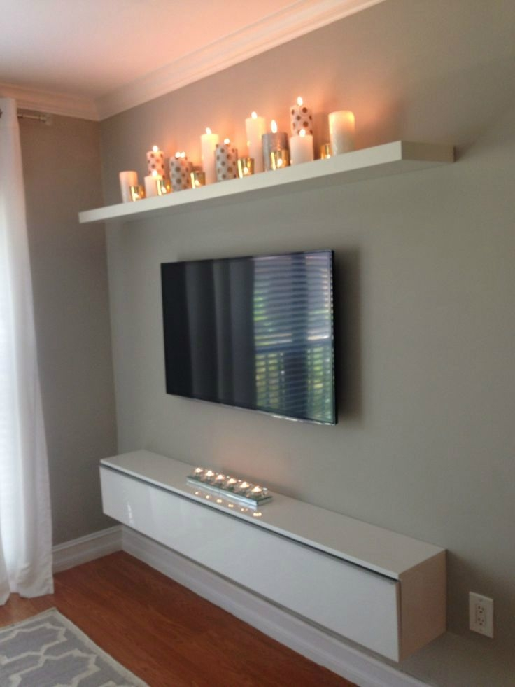 Remarkable Series Of Wall Mounted TV Stands With Shelves With Best 25 Cd Shelf Ideas On Pinterest Cd Storage Furniture Cd (Image 45 of 50)