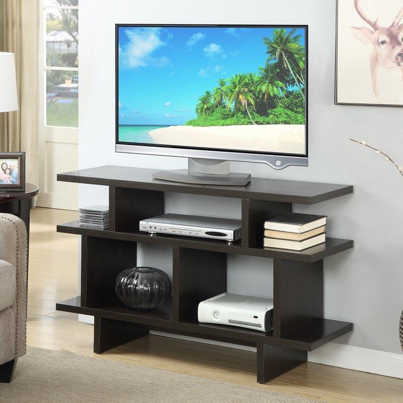 Remarkable Series Of Walnut TV Stands For Flat Screens Pertaining To Mid Century Modern Tv Stands Youll Love Wayfair (Image 38 of 50)