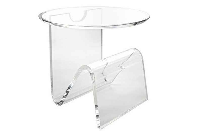 Remarkable Top Acrylic Coffee Tables With Magazine Rack Regarding Modern Acrylic Storage Design For Home Interior Furniture (View 23 of 40)