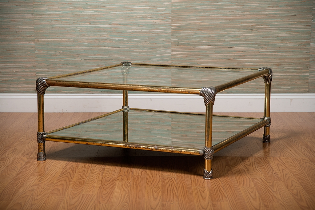 Remarkable Top Antique Glass Coffee Tables Within Antique Brass Coffee Table Superb Coffee Table Sets On Coffee (Image 33 of 40)